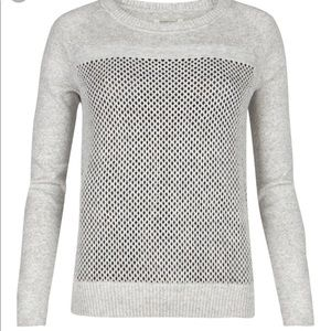 All Saints Gossamer jumper sweater 4 heather gray
